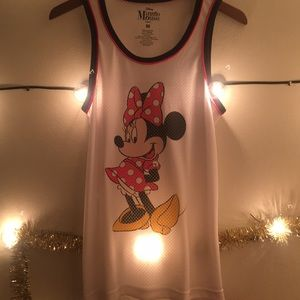 Disney minnie mouse mesh jersey